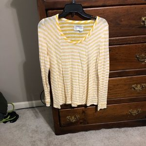 Women's long sleeve knit top from Anthropologie